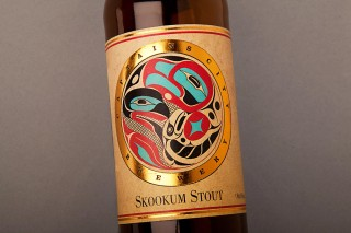 Packaging--Skookum-Stout-Beer-Label